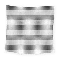 Pattern Half Tone Square Tapestry (large) by Nexatart