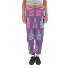 Pineapple Pattern  Women s Jogger Sweatpants by Nexatart
