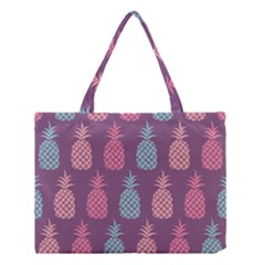 Pineapple Pattern  Medium Tote Bag by Nexatart