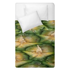 Pineapple Pattern Duvet Cover Double Side (single Size) by Nexatart