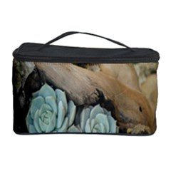 Plant Succulent Plants Flower Wood Cosmetic Storage Case by Nexatart