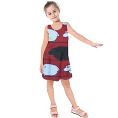 Sheep Kids  Sleeveless Dress