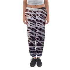 Seed Worn Lines Close Macro Women s Jogger Sweatpants