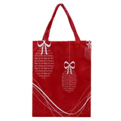 Simple Merry Christmas Classic Tote Bag by Nexatart