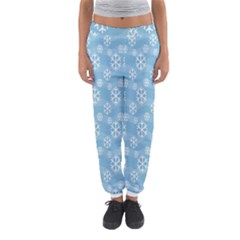 Snowflakes Winter Christmas Women s Jogger Sweatpants