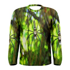 Spider Spiders Web Spider Web Men s Long Sleeve Tee by Nexatart