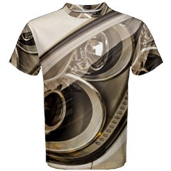 Spotlight Light Auto Men s Cotton Tee by Nexatart