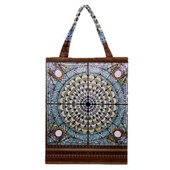 Stained Glass Window Library Of Congress Classic Tote Bag by Nexatart