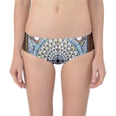 Stained Glass Window Library Of Congress Classic Bikini Bottoms by Nexatart