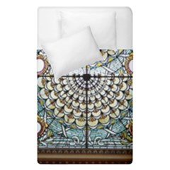 Stained Glass Window Library Of Congress Duvet Cover Double Side (single Size) by Nexatart