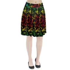 Star Christmas Curtain Abstract Pleated Skirt by Nexatart
