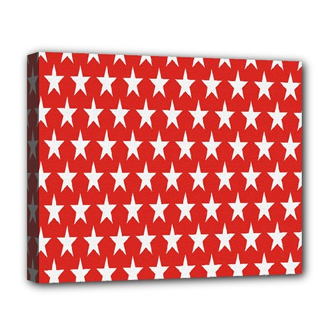 Star Christmas Advent Structure Deluxe Canvas 20  X 16