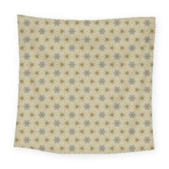 Star Basket Pattern Basket Pattern Square Tapestry (large) by Nexatart