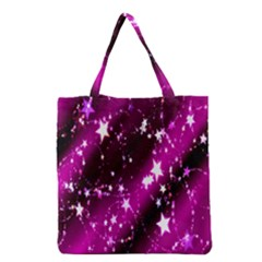 Star Christmas Sky Abstract Advent Grocery Tote Bag by Nexatart