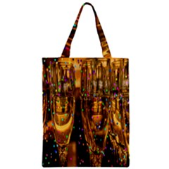 Sylvester New Year S Eve Zipper Classic Tote Bag by Nexatart