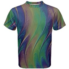 Texture Abstract Background Men s Cotton Tee by Nexatart