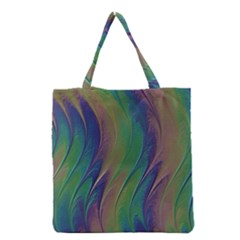 Texture Abstract Background Grocery Tote Bag by Nexatart