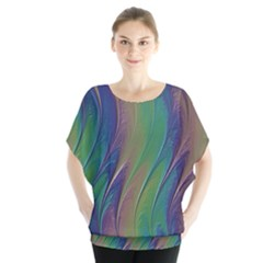 Texture Abstract Background Blouse by Nexatart