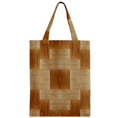 Texture Surface Beige Brown Tan Zipper Classic Tote Bag by Nexatart