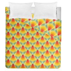 The Colors Of Summer Duvet Cover Double Side (queen Size) by Nexatart