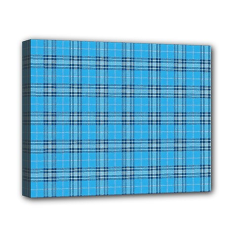 The Checkered Tablecloth Canvas 10  X 8  by Nexatart