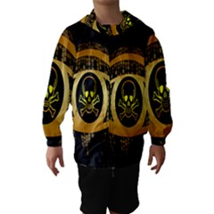 Virus Computer Encryption Trojan Hooded Wind Breaker (kids)