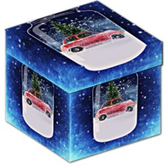 Winter Snow Ball Snow Cold Fun Storage Stool 12   by Nexatart