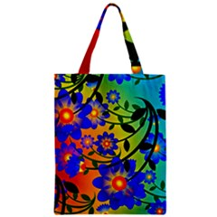 Abstract Background Backdrop Design Zipper Classic Tote Bag by Amaryn4rt