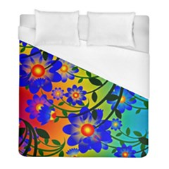 Abstract Background Backdrop Design Duvet Cover (full/ Double Size) by Amaryn4rt