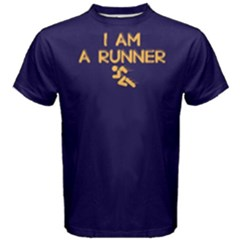 I Am A Runner - Men s Cotton Tee