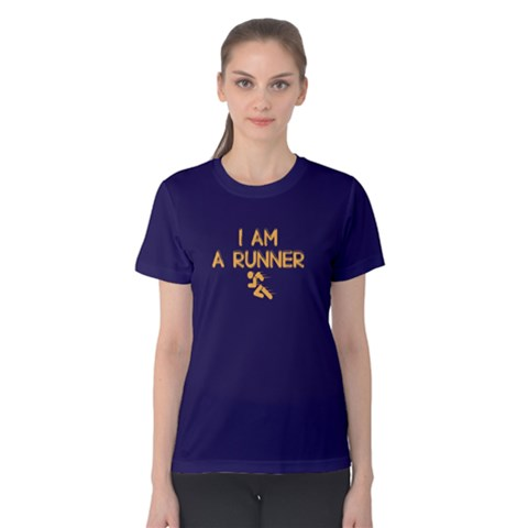 I Am A Runner - Women s Cotton Tee by FunnySaying
