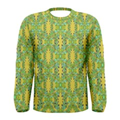 Ornate Modern Noveau Men s Long Sleeve Tee by dflcprintsclothing
