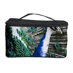 Animal Photography Peacock Bird Cosmetic Storage Case by Amaryn4rt