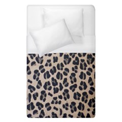 Background Pattern Leopard Duvet Cover (single Size) by Amaryn4rt