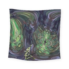 Backdrop Background Abstract Square Tapestry (small)