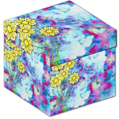 Backdrop Background Flowers Storage Stool 12   by Amaryn4rt