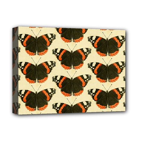 Butterfly Butterflies Insects Deluxe Canvas 16  X 12   by Amaryn4rt