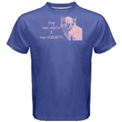Purple Cats Have Servants  Men s Cotton Tee