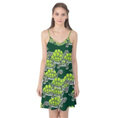 Seamless Tile Background Abstract Turtle Turtles Camis Nightgown