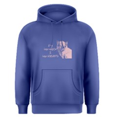 Purple Cats Have Servants Men s Pullover Hoodie by FunnySaying