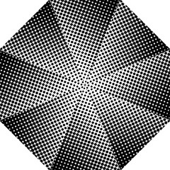 Background Wallpaper Texture Lines Dot Dots Black White Hook Handle Umbrellas (large) by Amaryn4rt