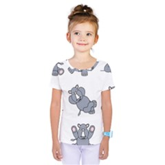 Rhinoceros Animal Rhino Kids  One Piece Tee
