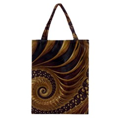 Fractal Spiral Endless Mathematics Classic Tote Bag by Amaryn4rt