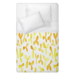 Springtime Yellow Helicopter Duvet Cover (single Size)
