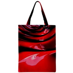 Red Fractal Mathematics Abstract Classic Tote Bag by Amaryn4rt