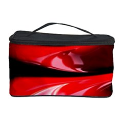 Red Fractal Mathematics Abstract Cosmetic Storage Case