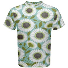 Sunflower Flower Floral Men s Cotton Tee