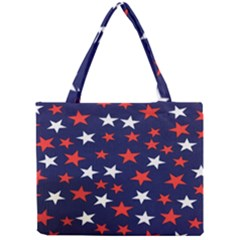 Star Red White Blue Sky Space Mini Tote Bag