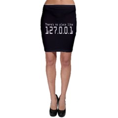 There s No Place Like Number Sign Bodycon Skirt