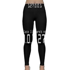 There s No Place Like Number Sign Classic Yoga Leggings by Alisyart